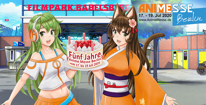 Anime Messe Berlin from 17 to 19 July 2020